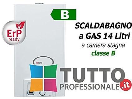 Calentador Calentador gas metano Saunier Duval Opalia F 14 Camera hermética Clase B