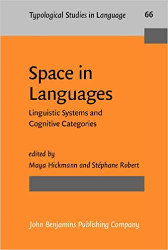 Read online Space in Languages: Linguistic Systems and Cognitive Categories (Typological Studies in Language) PDF