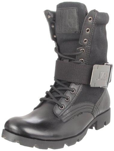 J75 Av Hopp Manar Stark Spets-up Boot Svart