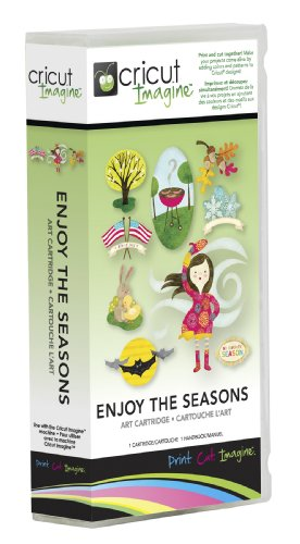 - Provo Craft Cricut Imagine Art Cartridge, Enjoy the Seasons