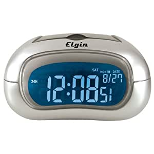 Electric Alarm Clock with Selectable Display Color