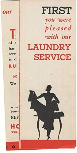 Holland Laundry, Brooklyn, New York Advertising Pamphlet