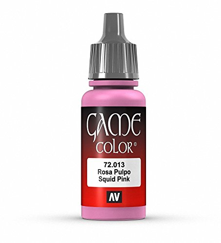 Pink Games (Vallejo Game Color Squid Pink Paint, 17ml)