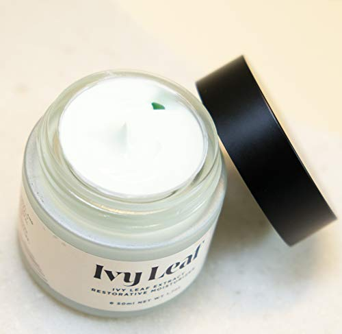 Ivy Leaf Restorative Moisturizer with Ivy Leaf Extract and Hyaluronic Acid - SPF 20 - Anti Aging and Anti Wrinkle