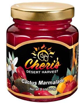 - CHERIS DESERT HARVEST Cactus Marmalade, 5 OZ