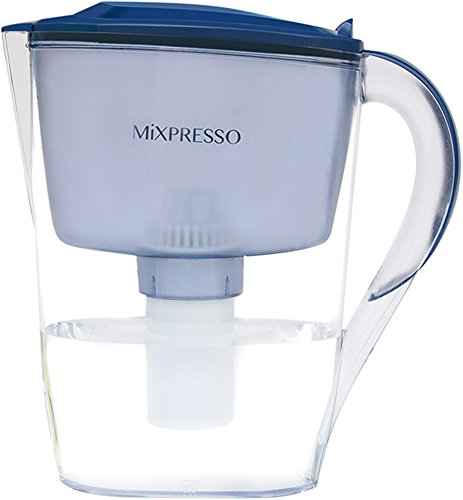 Better Coffee Water Pitcher – Water Filter Purifier System – by Mixpresso Coffee (10 Cups)