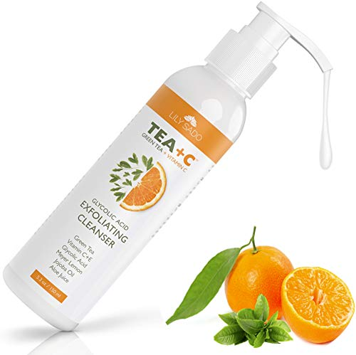 C Face Cleanser – Anti-Aging, Breakout & Blemish Face Wash with Aloe + Rosehip + Jojoba + Glycolic Acid - Exfoliating Cleanser for a Deep & Gentle Cleanse - For All Skin Types ()