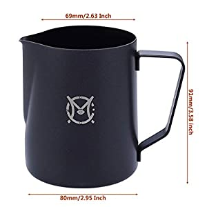 Magicafé Milk Frothing Frother Pitcher