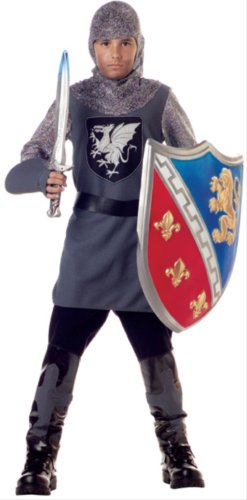 Valiant Knight Childrens Costumes (Valiant Knight Child Costume - X-Small)