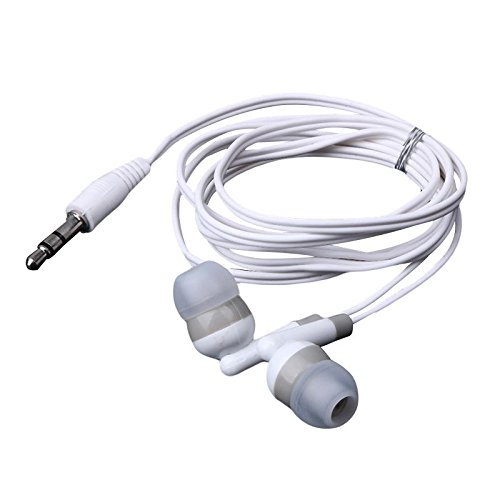 (Alloet MP3 MP4 3.5mm Earbud Earphone For PDA PSP Players W C)