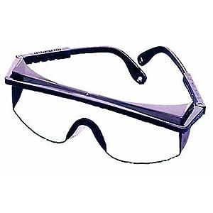Vaughan 597-10 SV1000 Clear Half Frame Wrap Around Protective Eyewear