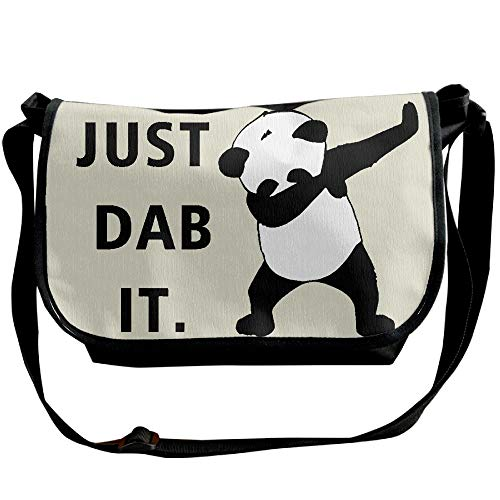 Fashion Men's Single Designer Messenger Shoulder Bags Just Panda It Bags Travel Dab Black Bags tYc4qzw