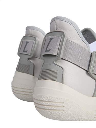 Fmskdiltvvele1800 Slip On Beige Lanvin Uomo Sneakers Pelle wB7axqxUI
