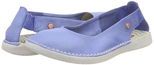 Women''s Flats Softinos Tho456sof lavender Ballet Blue Blue OAw0H