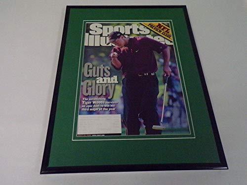 4bcf0f6901a Tiger Woods Framed ORIGINAL 2000 Sports Illustrated Cover