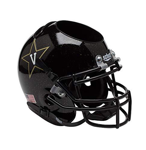 NCAA Vanderbilt Commodores Helmet Desk Caddy, Black