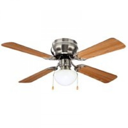 BOSTON HARBOR 42-742T-MR-EN-BN Ceiling Fan with Light, 42-Inch