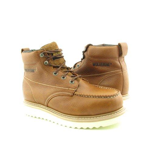 W08289 Wolverine Men's Wolverine Brown steel toed Boot Hq8p5nx