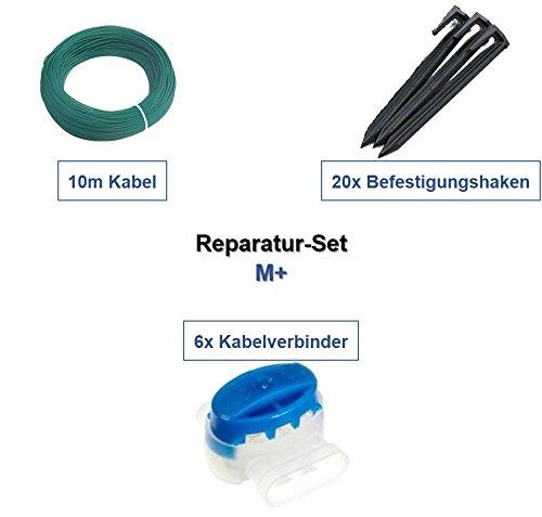Juego de reparación de m + Husqvarna Automower 105 Cable Ganchos Conector Reparación del paquete