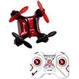 Smallest Mini RC Drone, One Key Return, Headless Mode, 2.4GHz 6 Axis Gyro Remote Control Helicopter Small Quadcopter Nano Drone for Kids & Beginners Adults (Red) for chrismas gifts.DIYI Model D20