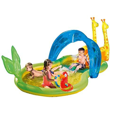 ZDYG Centro de Juegos acuáticos, con Piscina de rociado con ...