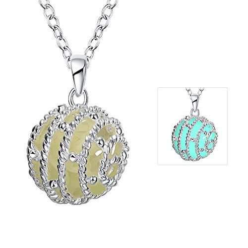 Women 925 Silver Plated Hollow Heart Pendant Necklace + Bracelet + Earrings Jewelry Set - 6