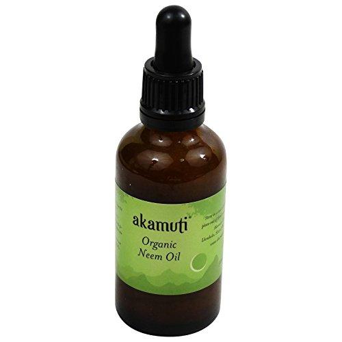 AKAMUTI - Organic Coldpressed Neem Oil - Purifying Treatment for Skin & Scalp - Vegan