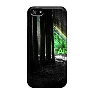 Slim Fit Protector ShS41969QulV Shock Absorbent Bumper Cases For Iphone 5/5s
