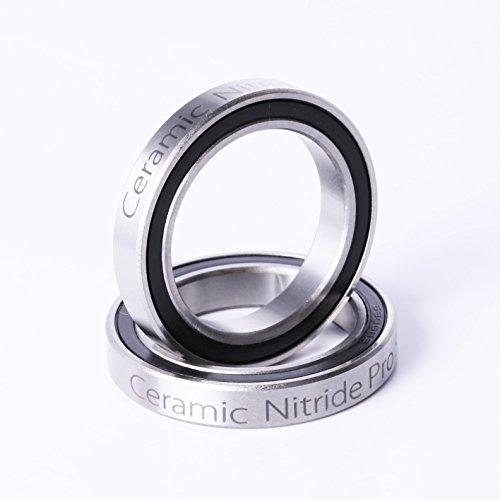 6806 2RS Ceramic Cartridge Bearing BB30 ID=30 OD=42 W=7 30x42x7mm Ceramic Ball Bearing