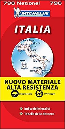 Cartina Michelin Italia.Mapa National Italia Alta Resistencia Mapas National Michelin French Edition Michelin 9782067130951 Amazon Com Books