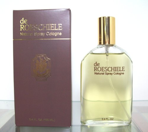 De Roeschiele Natural Spray Cologne Perfume Men 3.4