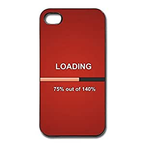 IPhone 4/4s Cases Loading 75 Design Hard Back Cover Cases Desgined By RRG2G