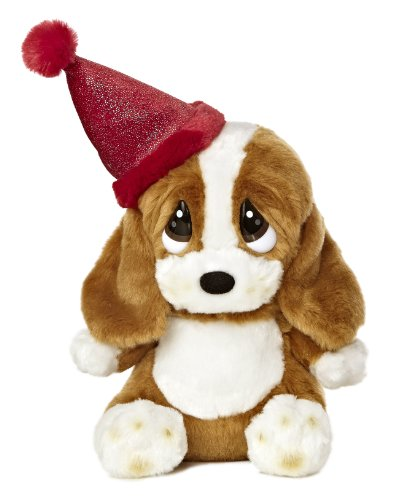 Aurora World Sad Sam Lil Pup Birthday Plush with Hat, 7.5