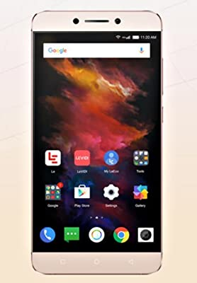 """LeEco Le S3 4G LTE UNLOCKED GSM Smartphone - USA Version -Qualcomm Snapdragon 652 CPU 32gb 3gb GOLD - 5.5"""" 1080P 403ppi Resolution 16MP Rear Camera 8MP Front Camera 4K Video Recording"""
