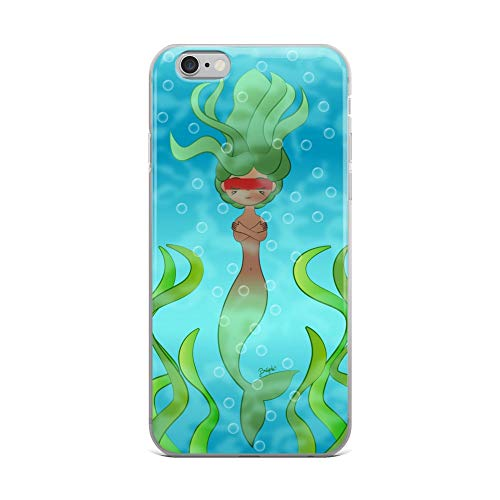 (iPhone 6 Plus/6s Plus Case Anti-Scratch Phantasy Imagination Transparent Cases Cover The Water Queen Fantasy Dream Crystal Clear)