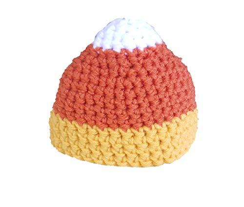 Hat Corn Candy - Crochet Candy Corn hat- Newborn to Adult