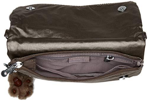 Bag Pewter Kipling Metallic Solid Lynne Convertible C6wnqxApB