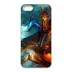 iPhone 5 5s Cell Phone Case White Defense Of The Ancients Dota 2 JAKIRO 005 KN2931020