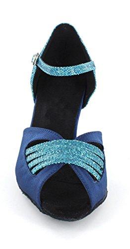Festa Blu Donna Ballo La Sera Sandalo Per Sposa Minitone Da Sandali q66w7O0H