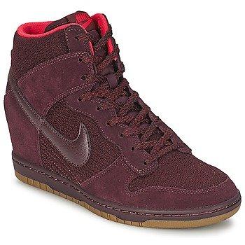 reputable site b62a2 ae07c Nike DUNK SKY HI ESSENTIAL (WMNS) Baskets Femme 644877-601-38 - 7 Bordeaux  Amazon.co.uk Shoes  Bags