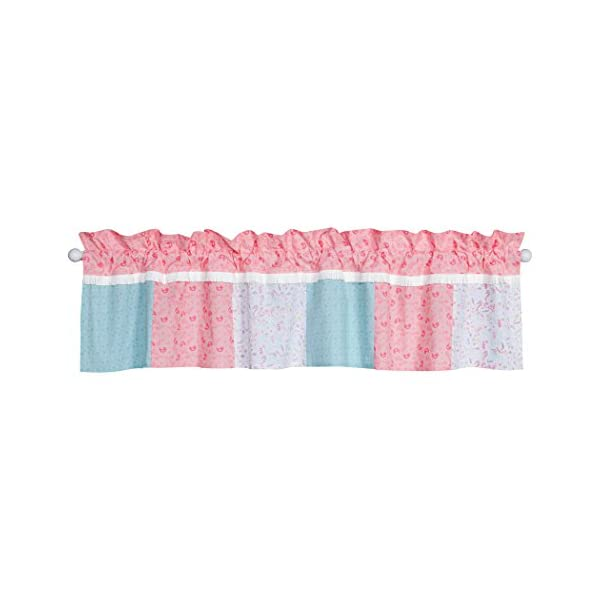 Trend Lab Wild Forever Window Valance, Pink/Teal