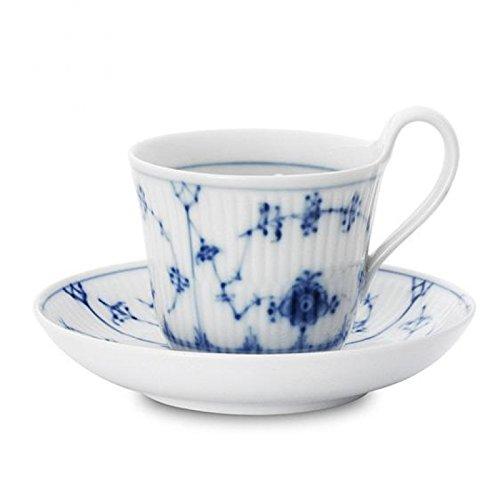 NEW in Box Royal Copenhagen Blue Fluted Tea Cup & Saucer 1101092