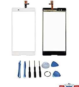SWS® de pantalla táctil negra de recambio para Sony Xperia T2Ultra D5303D5306de color blanca & herramientas de reparación apantalladas
