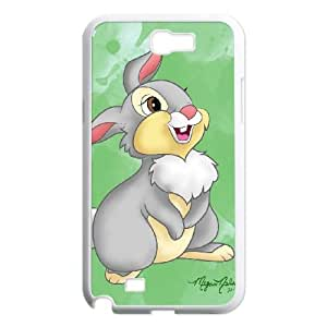 Disney Bambi Character Thumper Samsung Galaxy N2 7100 Cell Phone Case White JN744272