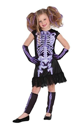 Totally Ghoul Shocking X-Ray Halloween Costume Large 10-12 -