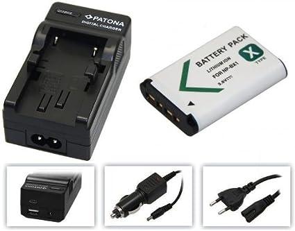 BATTERIA di ricambio batteria di ricambio Videocamera 1000mah per Sony Actioncam hdr-as20