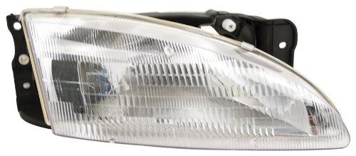 OE Replacement Hyundai Elantra Passenger Side Headlight A...
