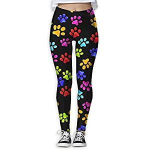 Amazon.com : Nuo Beike Color Dog Paw Prints Women's 3D