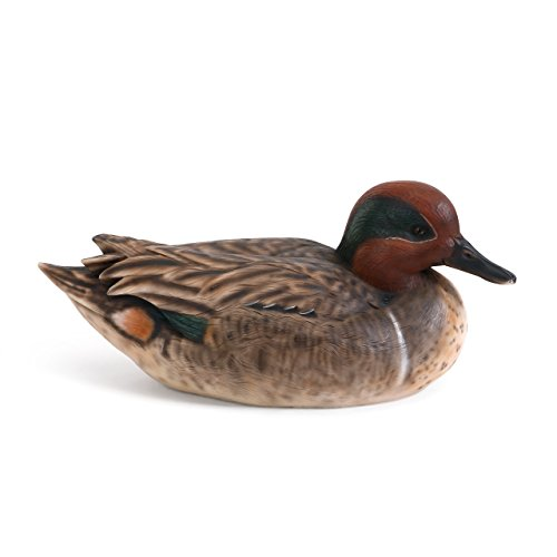 - Big Sky Green-Winged Teal 10 x 5 inch Limited Edition Collector's Item Wooden Decoy
