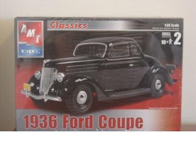 1936 Ford Coupe - 1/25 Scale